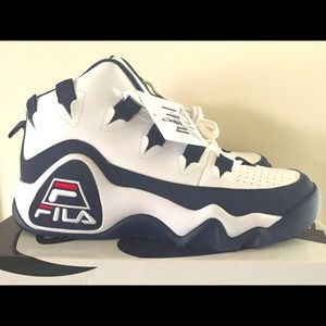 Fila Grant Hill 1 white navy and red size 9.5